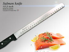 Japanese Salmon Knife 10.2 inch Fillet Slicer Kitchen Cutlery Japan CookingTools