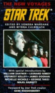 Star Trek: Bk.1: The New Voyages Paperback Book The Cheap Fast Free Post