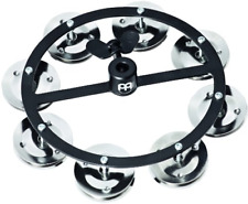 Meinl Cymbals Hthh1Bk Mountable Hihat Tambourine with Steel Jingles Video