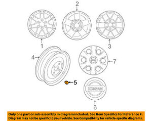 NISSAN OEM Wheel-Lug Nut 40224ZP50A