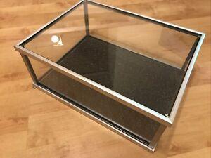 Model Display Cabinet,Brushed Aluminium