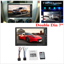 """Touch Screen HD 7"""" Double 2DIN Car MP5 Player Bluetooth Stereo Radio Mirror Link"""