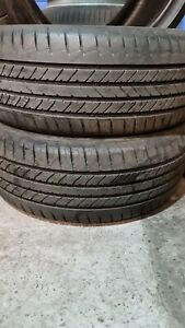 X2 Matching Pair Of 205/50/17 Goodyear Efficient Grip 99V Tyres
