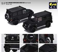 Era LB Works Mercedes-Benz G Wagon G63 Matte Black 1/64