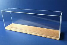 "DISPLAY CASE 15.5"" for  scale SHIP MODELS cruise kit train acrylic , by Scherbak"