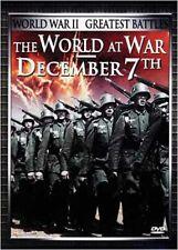 THE WORLD AT WAR - DECEMBER 7TH (DVD)