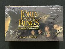Lord of the Rings TCG Black Rider Booster Box - Factory Sealed