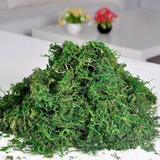 Green Artificial Reindeer Moss For Lining Plant Flower Garland Decor SH