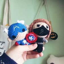Marvel The Avengers Winter Soldier Venom Barnes Captain Sweater Doll Handmade Be