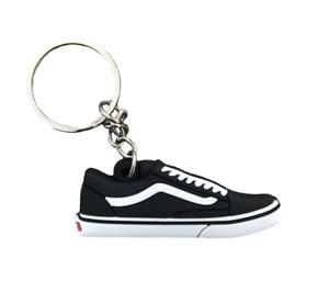 Vans Old Skool Black and White Trainer Keychain Keyring Sneakers Old School