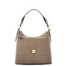 Dooney & Bourke Sophie Hobo 100% cowhide leather shoulder bag in Taupe NWT
