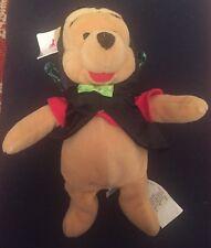 """Toy Soft Cuddly Plush 8"""" Disney Bat Pooh With Cloak Winnie The Pooh BNWT"""