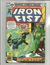 Iron Fist #6 (Aug 1976, Marvel) EARLY BRYNE ART!!   CHEAP!!