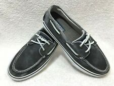 Sperry Top-sider Bahama 2 Eye Men's 8.5 Distressed Boat Shoe ~ EUC, very NICE!