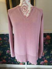 Wallis light Pink Knitted Lightwieght Jumper Size 16