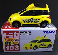 JAPAN TOMY TOMICA NO 103 POKEMON PIKACHU CAR 1/60 DIECAST TOY CAR VX722236