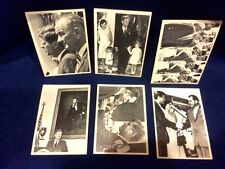 115 President John F Kennedy Bubblegum Trading Card Series Almost Complete