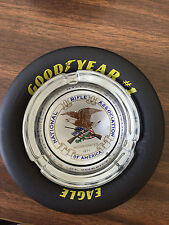 NRA National Rifle Association / Goodyear Eagle Tire Ashtray, Style #3, NEW