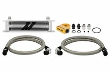 Mishimoto Thermostatic Universal 10 Row Oil Cooler Kit - Silver