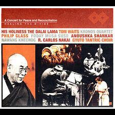 FREE US SHIP. on ANY 3+ CDs! USED,MINT CD Dalai Lama, Tom Waits, Kronos Qu: Heal