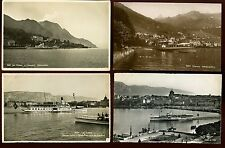 Shipping Switzerland Lake Paddle Steamers 10x RP PPCs c1950/60s