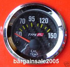 "Type R 2""/ 52MM Oil Temp Gauge Meter HQ tacho"