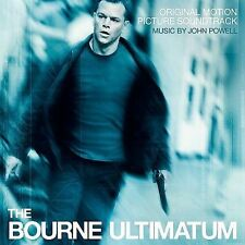 THE BOURNE ULTIMATUM Soundtrack Score CD John Powell 2007 Fast Ship  *BRAND NEW*
