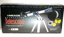 Meade NG-60 Refracting Telescope 60mm Aperature 700mm Focal Length NEW Open Box