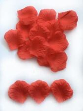 Petali rossi senza marca per il matrimonio