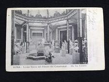A675 1901 Roma Museo Nuovo Conservatori FP da Bisaccia a S.Angelo dei Lombardi