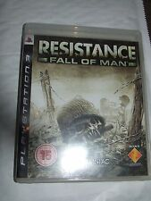 Resistance Fall Of Man Sony Playstation 3 Game PS3