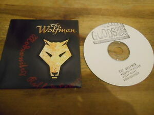 CD Punk The Wolfmen - Modernity Killed Every Night (11 Song) Promo DAMAGED GOODS