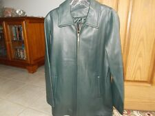 LNR by la nouvelle Renaissance Leather Jacket Hunter green Size S.