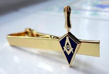 ZP20 Masonic Masons Tie Pin Bar  Square Compass Trowel Freemason