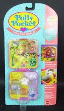 Polly Pocket WILD ZOO WORLD Compact Playset #10636
