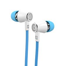 In Ear Headphones Earphones Metal Deep Bass For Samsung LG Andriod/ios Blue