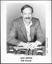 Gary Burton Jazz Vibraphonist 1980s Original ECM Records Promo Photo Vibes