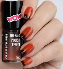 THERMO POLISH EFFECT NAIL COLOUR CHANGING - RED TO BORDEAUX - NON UV - 5002