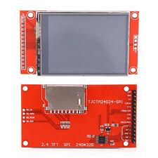 "2.4"" 240x320 SPI TFT LCD Touch panel Serial Port Module + PCB Plaque ILI9341 5/3.3V"