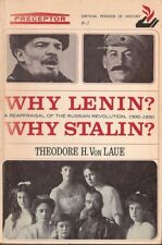 B0006DLYRY Why Lenin? Why Stalin? A Reappraisal of the Russian Revolution, 1900
