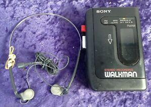 Sony Walkman Stereo Radio Cassette Player WM-F2041 With Headphones