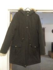 GEORGE Parka Jacket Size 12 good condition
