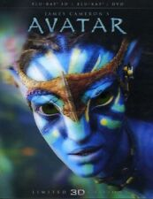 Avatar [New Blu-ray 3D] Ltd Ed, With DVD, Widescreen, Repackaged, Subtitled, 2