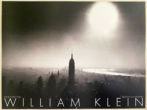 """WILLIAM KLEIN RARE 1980 LITHOGRAPH PHOTO PRINT FRENCH POSTER """" NEW YORK,1954 """""""