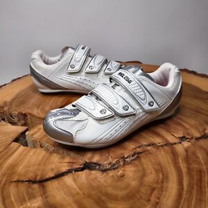 Pearl Izumi Women's Select Road Cycling Shoes White Size Eur 38 US 7.5 Worn Once