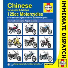 [4871] Chinese Taiwanese Korean 125cc Motorcycles Haynes Workshop Manual