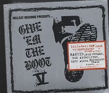 HellCat Records Give Em the Boot V CD digipak