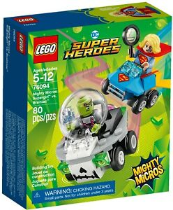 LEGO (Super Heroes) Mighty Micros: Supergirl Vs Brainiac  (#76094) New