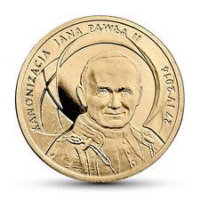 polskie monety/polish coins 2 zł Kanonizacja IP.II-2014r