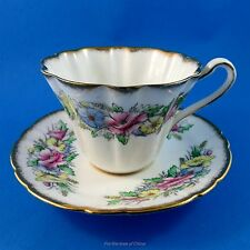 Royal Stafford Special Occasion Series Health & Happiness Tea Cup and Saucer Set
